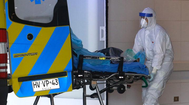TALCA:Personal del hospital regional de Talca ingresan a un nuevo paciente sospechoso de portar Coronavirus