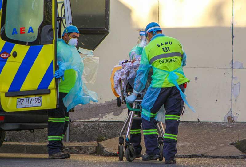 CHILLAN : hospital Herminda Martin