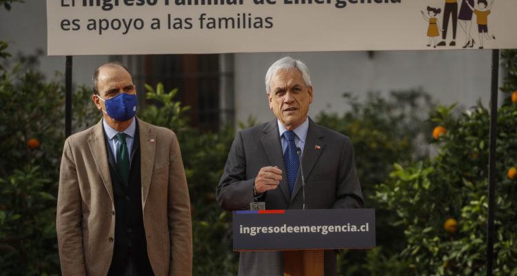El presidente de la Republica anuncia el pago a nuevos beneficiarios del Ingreso Familiar de Emergencia
