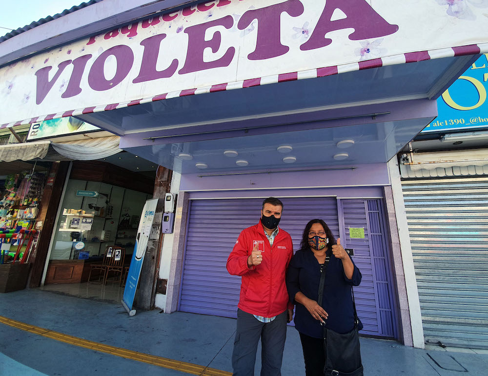 Paquetería-Violeta